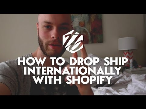 Drop Shipping Internationally — How To Drop Ship Profitably To Europe   #239