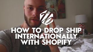 Drop Shipping Internationally — How To Drop Ship Profitably To Europe | #239