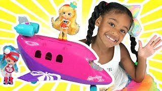Baby Doll Play and Surprise Toys Travel | Naiah TV