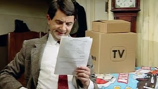 What's on TV Mr Bean? | Funny Clips | Mr Bean Official
