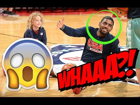 Kyrie Irving And D'angelo Russell 1 on 1 During USA Basketball Practice