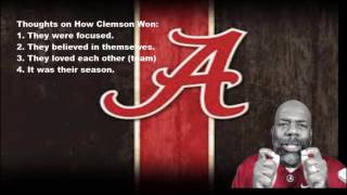 How Did Clemson Win The National Championship #periscope #coach