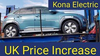 Kona Electric UK Price Increase +£2,350