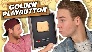 GOUDEN PLAYBUTTON MAKEN! - Nailed it #3