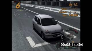 "Gran Turismo 3 A spec ""speedrun"" (sunday cup%) (PB12.30,416)"