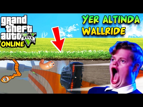 %99,99 İMKANLI YER ALTINDA WALL RIDE! | EKİPLE GTA 5 ONLINE