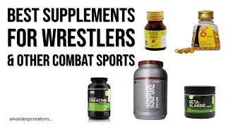 The Best Supplements for Wrestlers, Boxers & Other Combat Sports Athletes