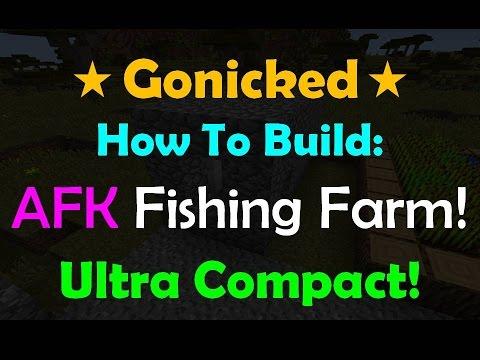 [Tutorial] Ultra Compact AFK Fishing Farm! (Minecraft 1.8.1)