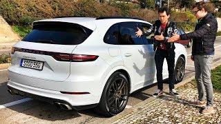 Вот почему новый ПОРШЕ КАЙЕН быстрее BMW X5M и GLE 63!) Обзор и тест-драйв. PORSCHE Cayenne Turbo.