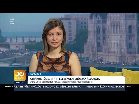 A diákok több, mint fele iskolai erőszak áldozata - Dúró Dóra - ECHO TV