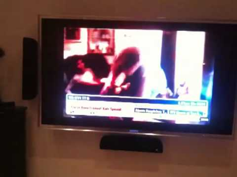 Sony Bravia Lcd Tv Problem Light Flashing Behind Screen Youtube
