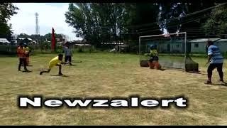 Hockey open tournament : Badal sports club Srinagar entered semi finals