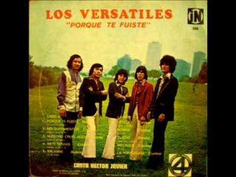 Los Versatiles - porque te fuiste