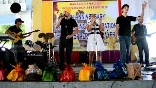 I worship You/How Great rock medley @daraga park (anointed band)