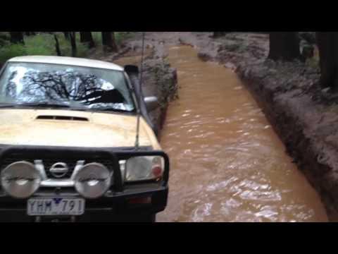 Toolangi Mud Holes 4x4 Nissan Navara