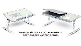 Portronics Digital Portable | Portable Laptop Table | Best Laptop Table - Review
