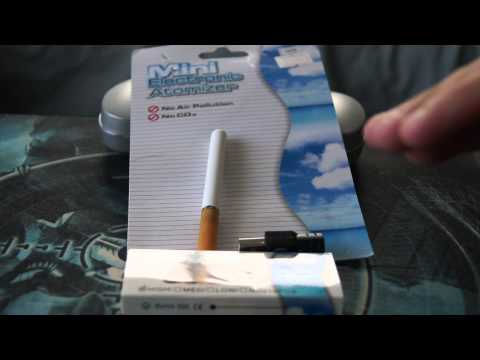 Dealextreme Product Review - Quit Smoking USB Rechargeable Electronic Cigarette with 10-Refills