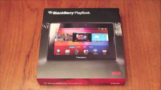Blackberry Playbook Unboxing - Get Out of the Box