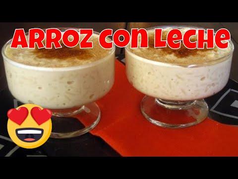 Arroz con Leche Cremoso, Delicoso y Facil!