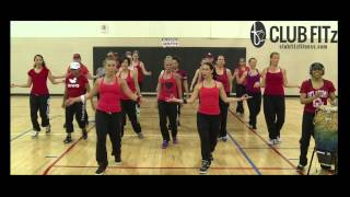 ROCK THE RED 10min REMIX! (Old School Hip Hop: Choreo by Lauren Fitz)