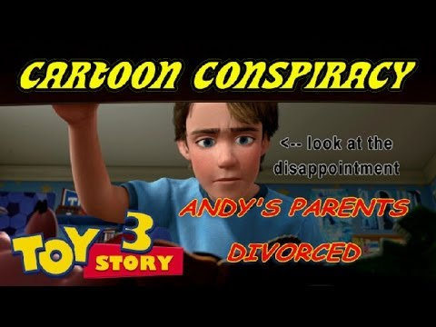 Cartoon Conspiracy Theory | Toy Story Divorce Theory