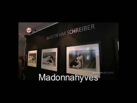 Tv News item about the Madonna nude exposition in Amsterdam