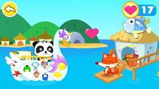 Trò chơi thuyền trưởng gấu trúc || Trò chơi giáo dục cho các bé