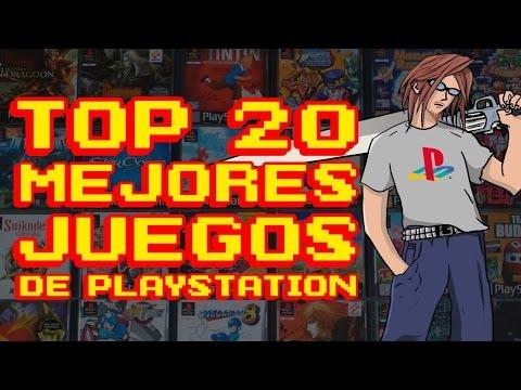 TOP 20: Mejores Juegos de Playstation - 20 AÑOS de PSX - SaKichanes