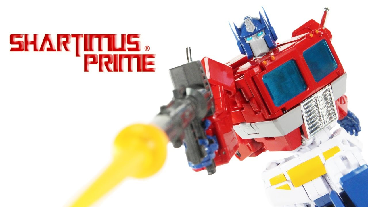 Transformers MP-44 Optimus Prime Masterpiece Convoy 3rd Version G1 Cartoon Action Figure Toy Review