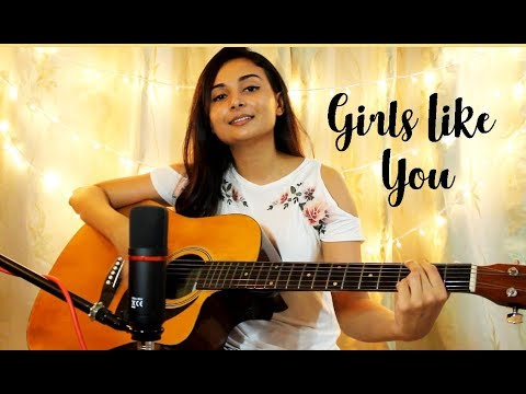 Girls Like You - Maroon 5 | Cover by Stephanie Sansoni