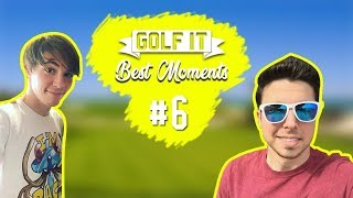 LOS MEJORES MOMENTOS DE YOUTUBERS 5  GOLF IT! BEST MOMENTS