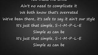 Simple - Florida Georgia Line Lyrics