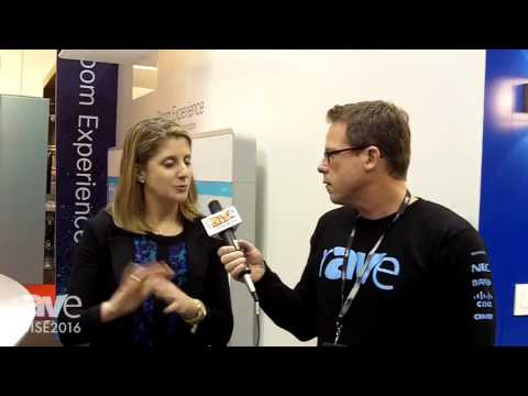 ISE 2016: Gary Kayye Interviews Angie Mistretta, Dir. of Collaboration Solutions Marketing, at Cisco