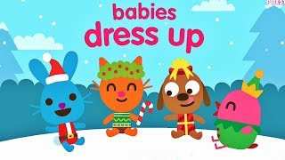 Sago Mini Babies 🎅 Funny Christmas 🤶 Dress Up Game App for Toddlers