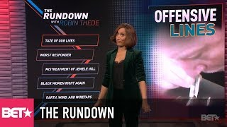 Offensive Lines – NFL Takes Huge BLOW   The Rundown With Robin Thede