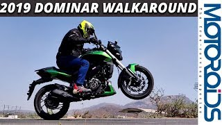 New 2019 Bajaj Dominar UG Walkaround - Features and First Impressions | Motoroids