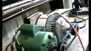 witts.ws 3000 Watt Generator Powers Itself, Grinder & Drill Press - Obvious Over-Unity.mp4