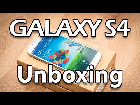 Unboxing Samsung Galaxy S4 GT-I9500