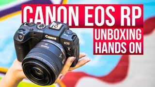 NEW Canon EOS RP - Unboxing and first impressions review