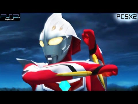 Ultraman Nexus - Ps2 Gameplay 1080p (pcsx2) video