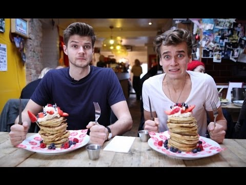 PANCAKE DAY CHALLENGE WITH JOE SUGG AND JIM CHAPMAN