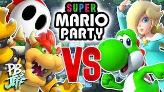 GOOD GUYS vs BAD GUYS - Super Mario Party 2 vs 2 (Part 1)