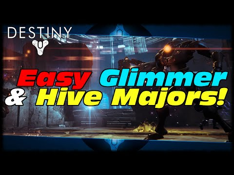 Destiny How To Farm Easy Glimmer & 10 Hive Majors! Destiny Fast & Easy Glimmer Guide!