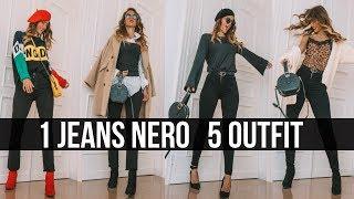 COME ABBINARE I PANTALONI NERI: 5 OUTFIT super alla moda!