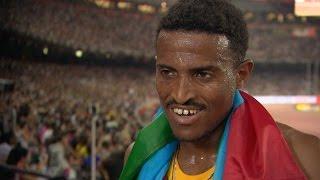 WCH 2015 Beijing - Hagos Gebrhiwet ETH 5000m Final Bronze