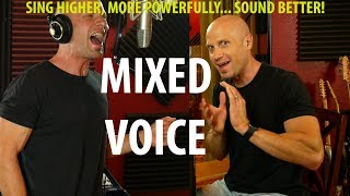How to Find Your Mixed Voice (Blend chest & falsetto. Better power and range)