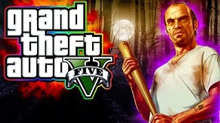 GTA 5 Funny Moments! - New SLASHER Gamemode!  (GTA 5 Halloween DLC)