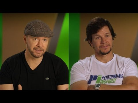 EXCLUSIVE: Mark and Donnie Wahlberg Compete Against Their Brothers For the Title of 'Favorite Son'