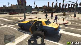 GTA 5 Invisible Car Glitch Tutorial - Grand Theft Auto 5 Glitches PS3 and Xbox 360