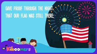 Star Spangled Banner Song For Kids National Anthem The Kiboomers